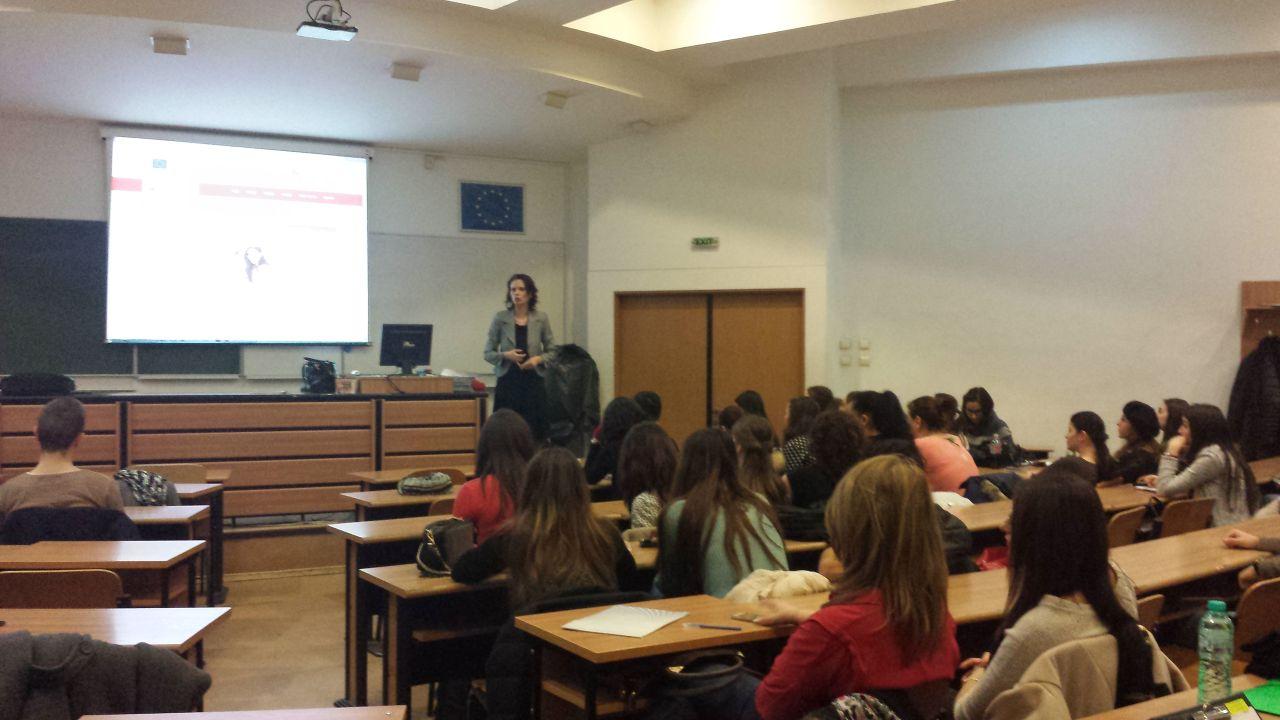 Madalin Rosu le-a vorbit studentilor de la ASE despre managementul daunelor auto