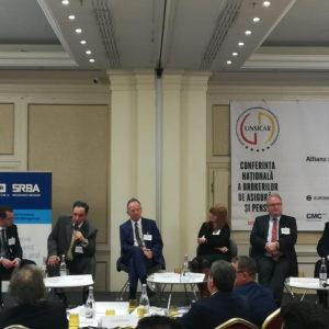 UNSAR Conferinței Naționale a Brokerilor de Asigurări și Pensii